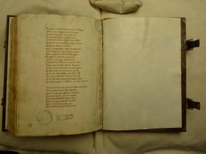 Brussels - KBR - 837-45, fol. 183v: The abrupt ending of The Nine Worthies (by courtesy of KBR Brussels)