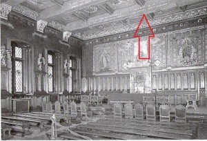Wedding room of the City Hall in Brussels (image published in Hogenelst and Van Oostrom 2002, see: Further reading)