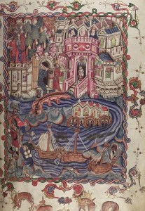 Opening illumination of Bodley 264